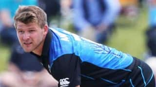 New Zealand vs Scotland ICC World Cup 2015 match at Dunedin: New Zealand set 143 to win by Scotland