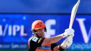 Mohit Sharma bowls Aaron Finch for 44 in Chennai Super Kings vs Sunrisers Hydreabad, IPL 2014
