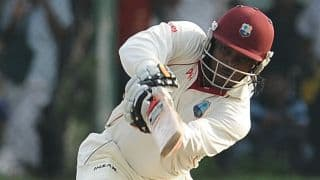 West Indies 6/1 trail New Zealand by 215 runs at stumps on Day 1 of 2nd Test