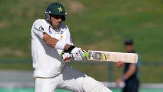 Mohammad Hafeez, Misbah-ul-Haq complete 100-run stand for fourth wicket