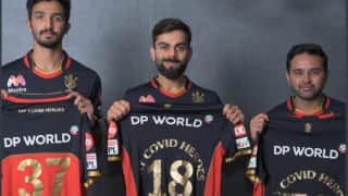 """IPL 2020: RCB team will proudly don a tribute jersey with the message """"My Covid Heroes"""" during 13th season"""