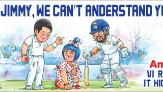 Amul's take on James Anderson's controversial comments on Virat Kohli is hilarious