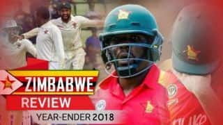 Year-ender 2018: Zimbabwe review – A rare away Test win the only saving grace