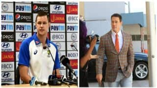 Watch Jason Behrendorff's hysterical reaction on comparison with John Cena