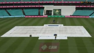 Pakistan vs Australia 3rd Test Day 4: Rain forces early lunch