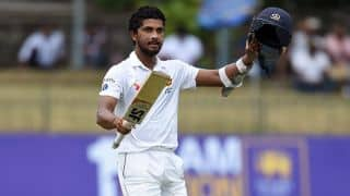 Chandimal leads SL's fight back in 2nd session on Day 1 of 2nd Test vs BAN