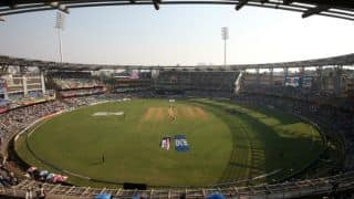 Top firms fight for Wankhede Stadium's naming right