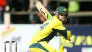 Zimbabwe Triangular Series 2014: Australia vs South Africa, 5th ODI at Harare: Philip Hughes scores half-century