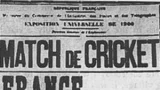 When cricket debuted at the 1900 Olympics in Paris