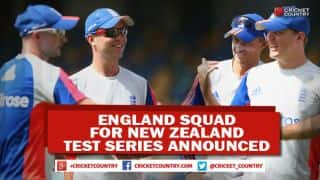 England announce squad for Test series against New Zealand; Adam Lyth and Mark Wood included