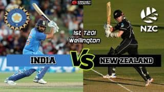 India vs New Zealand, 1st T20I, Live Cricket Score and Updates: India slump to biggest T20I loss, New Zealand take 1-0 lead