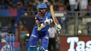 Delhi opt to bat against unchanged Chennai; Amit Mishra in for Trent Boult