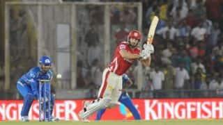 Kings XI Punjab post 156/8 against Mumbai Indians in IPL 2014