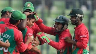 Taijul Islam 1st to take hat-trick on ODI debut; 4th on international debut across formats
