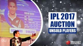 IPL 2017 Auction, Live Blog in hindi: Players who remain unsold