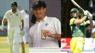 Four father-son pairs who represented Australia