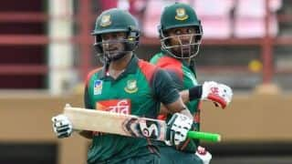 1st ODI: Bangladesh finally taste success on West Indies tour