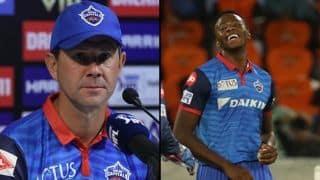 रबाडा के IPL से बाहर होने पर कोच रिकी पोंटिंग का बड़ा बयान