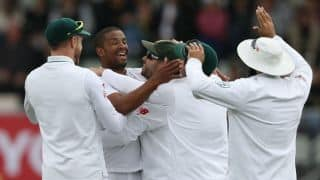 Australia vs South Africa, 2nd Test, Day 1, Lunch report: Vernon Philander's early strikes put visitor's in control as hosts' suffer collapse