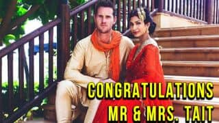 Shaun Tait gets married to Indian model Mashoom Singha