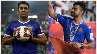 विराट कोहली की टीम का फुटबॉल में भी जलवा, ऑल स्टार्स को 7-3 से हराया