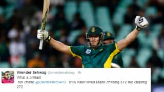 South Africa complete 2nd highest ODI run-chase against Australia to win the series; Twitter erupts