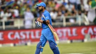 Virat Kohli misses 3rd T20I vs South Africa due to stiff back