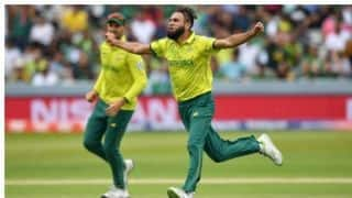 ICC CRICKET WOLRLD CUP 2019: Imran Tahir takes Most wicket for South Africa in CWC
