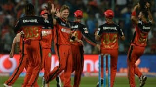 Royal Challengers Bangalore vs Gujarat Lions, IPL 2016, Match 44 at Bangalore: RCB's likely XI