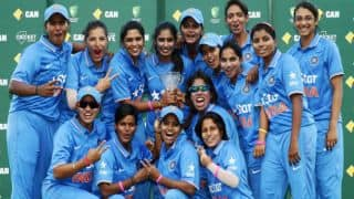 Indian team announced for ICC Women's World Cup Qualifier 2017