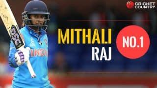 भारतीय कप्तान मिताली राज बनी नंबर एक वनडे बल्लेबाज
