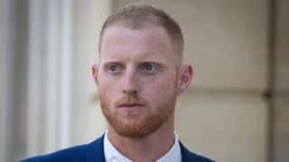 Ben Stokes in Bristol Court for day four of trial