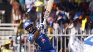 Mumbai Indians vs Royal Challengers Bangalore IPL 2014 match 27: Pollard, Rohit put MI in command
