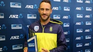 Faf du Plessis admits rains saved South Africa in 3rd Test at Hamilton