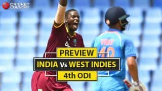 IND vs WI, 4th ODI preview: Eyes on visitors' bench-strength in do-or-die clash for hosts