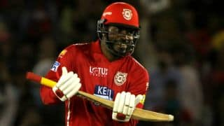 IPL 2018: This is why Chris Gayle does special move after century
