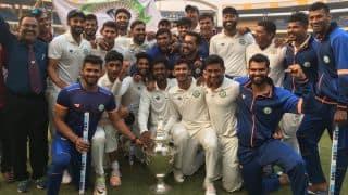 Twitteratti congratulate Vidarbha following maiden Ranji Trophy title