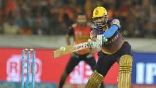 आईपीएल 2018: हैदराबाद ने टॉस जीता, कोलकाता को पहले बल्लेबाजी करने का दिया मौका