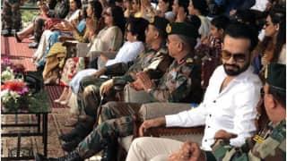 जश्न-ए-बारामुला में शामिल होने कश्मीर पहुंचे इरफान पठान