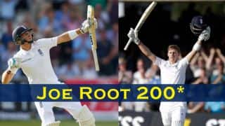 Joe Root becomes fourth youngest to score double ton for England