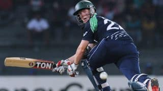 Ireland cruise to 7 wicket victory against Scotland in 1st ODI