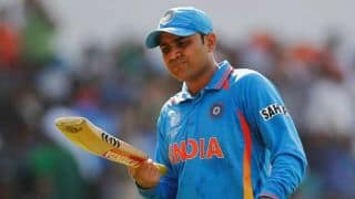 Virender Sehwag: Shahid Afridi abused me in my 1st match for India