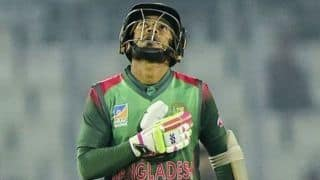 Mushfiqur puts Bangladesh 1-0 up against West Indies