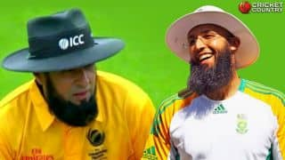 CT 2017: Aleem Dar sports beard; Hashim Amla the inspiration