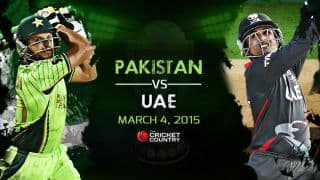 Pakistan vs UAE, ICC Cricket World Cup 2015, Pool B Match 25 at Napier: Preview