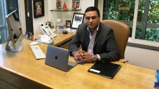 BCCI CEO Rahul Johri gets a warm welcome