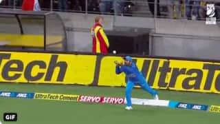 WATCH: दिनेश कार्तिक ने बाउंड्री पर लपका शानदार कैच