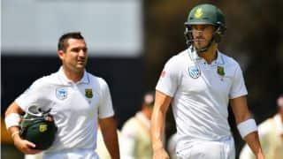 जोहान्सबर्ग टेस्ट: डीन एल्गर, फॉफ ड्यु प्लेसी की साझेदारी से दक्षिण अफ्रीका ने 401 रनों की बढ़त हासिल की