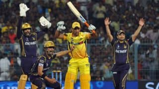 Kolkata Knight Riders vs Chennai Super Kings, IPL 2015 Match 30 at Kolkata