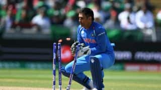 India vs Australia, 3rd ODI: MS Dhoni's 100th stumping for country and other stats for Indore tie